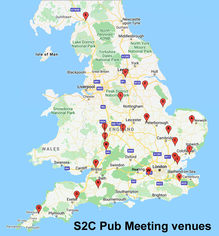 Pub meetings