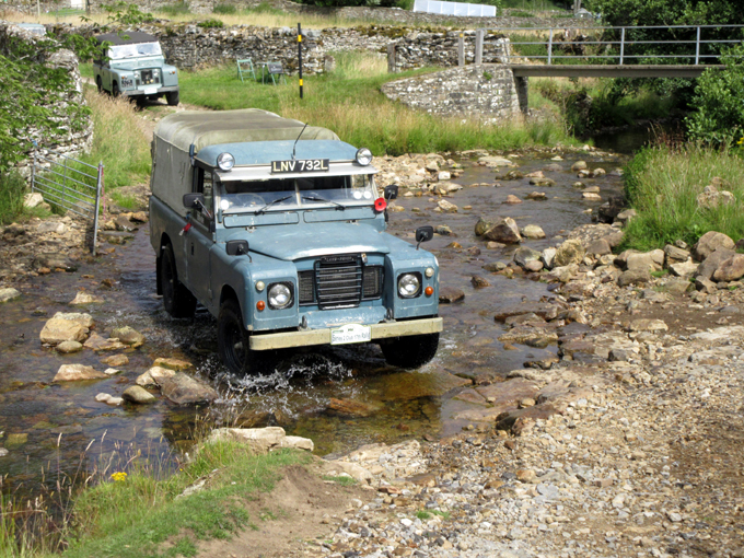 fording in the Dales